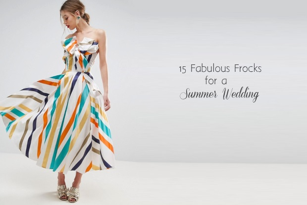 130dae30b99 15 Fabulous Pastel   Print Dresses for Summer Wedding Guests ...