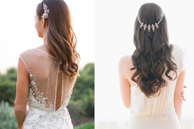 50 Dreamy Wedding Hairstyles For Long Hair: 18 Dreamy Ways To Wear Your Hair Down On Your Wedding Day