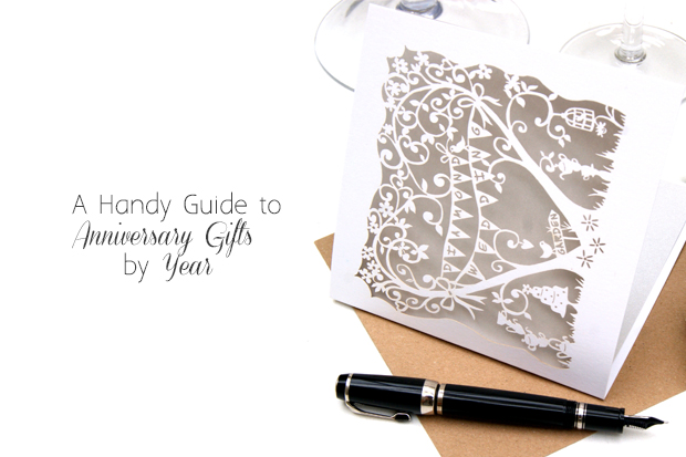 A Handy Guide To Wedding Anniversary Gifts By Year Weddingsonline