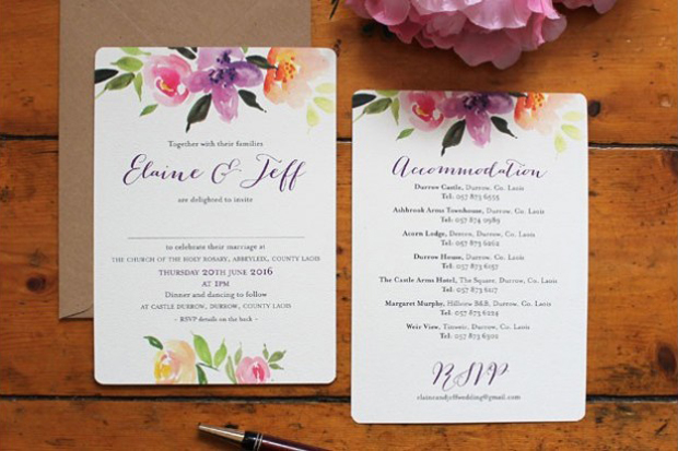 What wedding stationery trends are going to be big for the year ahead? Our stationery experts Alternative Wedding Invitations, Paper & Lace Design, ...