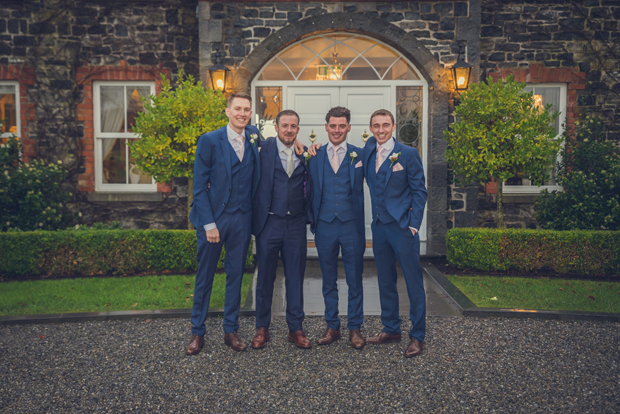 40702ed75c00 There's lots of options now for dapper grooms but one suit colour that is  always a hit with grooms and groomsmen alike is navy! Whatever the season,  navy is ...
