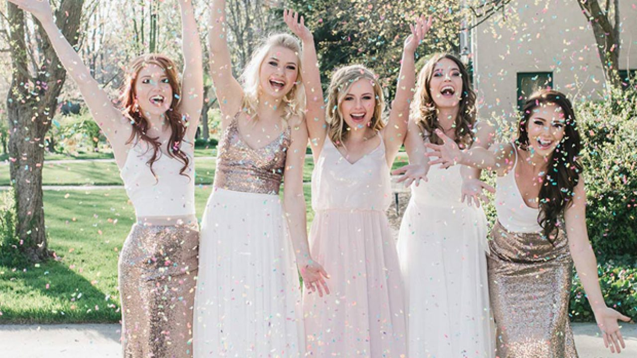 How to Style Bridesmaids in Separates & Where to Shop   weddingsonline