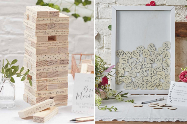 13 Gorgeous Wedding Guest Books You Can Pick Up Now