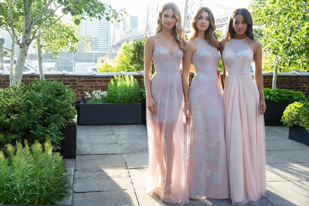 5342b0d41e41 The Divine Hayley Paige Occasions Fall 2018 Bridesmaid Collection ...