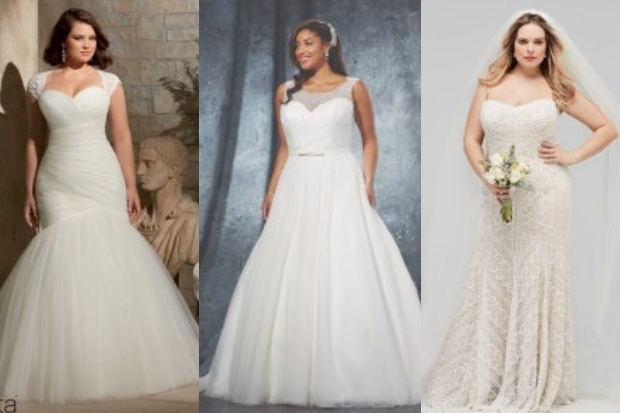 e539b16c5bb Attention curvy brides! We ve got some gorgeous wedding dresses just for  you… If you re pear-shaped