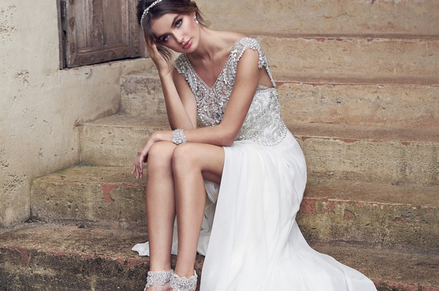 a5b16d0b 30 Beautifully Embellished Wedding Dresses | weddingsonline