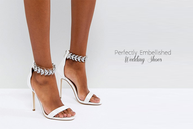 47d156e534d We re a sucker for embellished wedding shoes! We love a bit of sparkle and  think a wedding is the perfect opportunity to indulge.