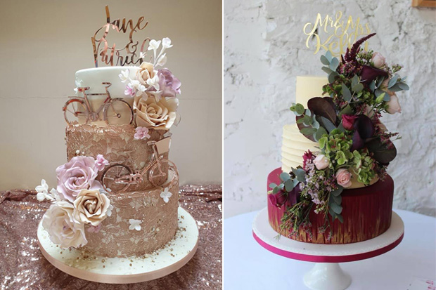 6 Wedding Cake Trends That Will Be Big In 2019 Weddingsonline