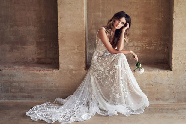 ea0f8959065c 7 of the Biggest Wedding Dress Trends for 2019