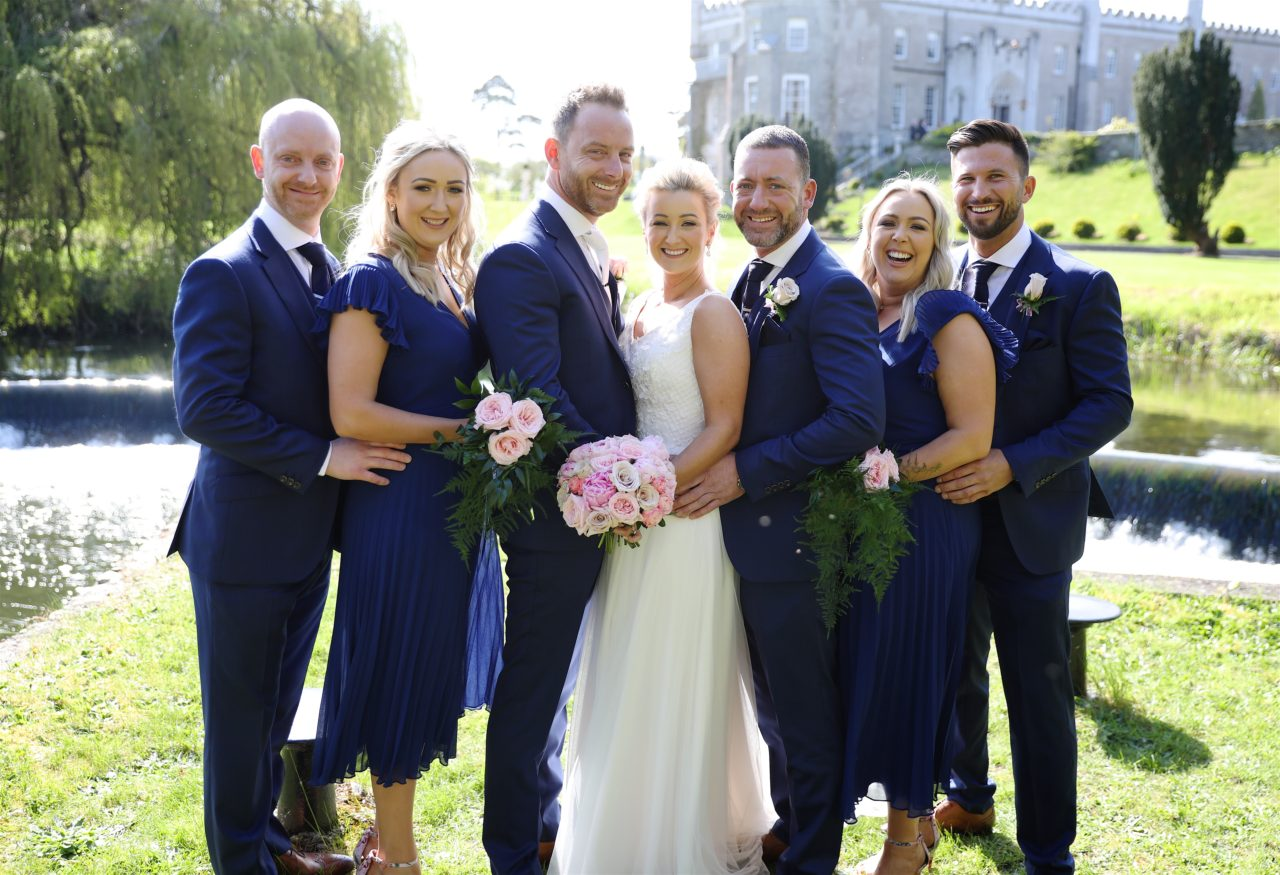 A Brill Blush and Navy Wedding | weddingsonline
