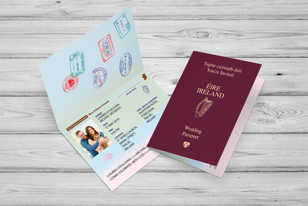Awesome Travel Inspired Wedding Invitations Weddingsonline