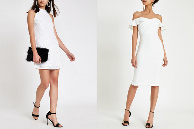 White Dresses For Your Hen Party