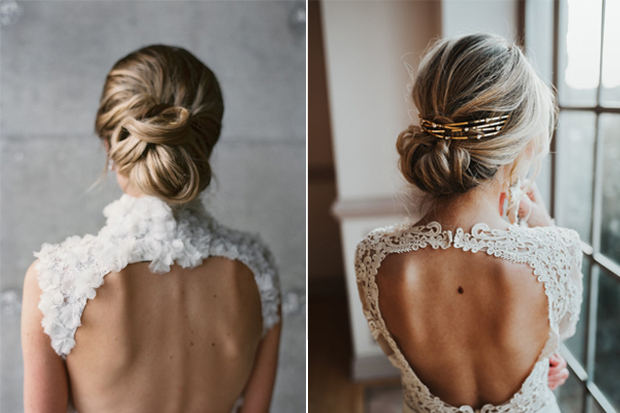 These Pretty Bridal Updos Are Utter Perfection