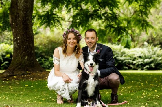 A Vegan, Mix and Match Wedding With a Dog!