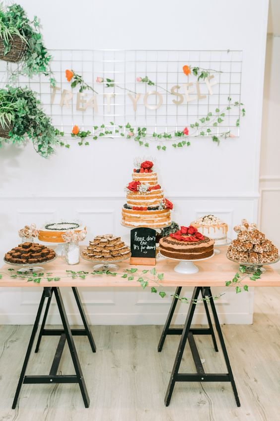 wedding dessert tables