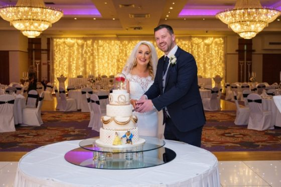 A Beauty and the Beast Themed Wedding