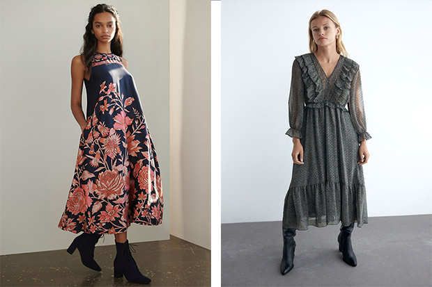 Autumn guest dresses