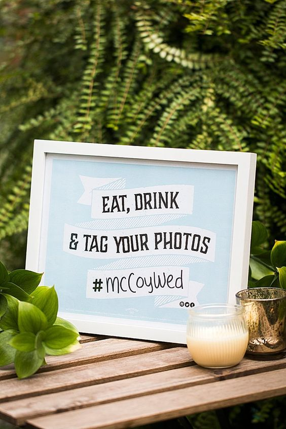 Wedding Hashtags: