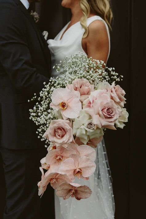 Breathtaking Orchid Bridal Bouquets