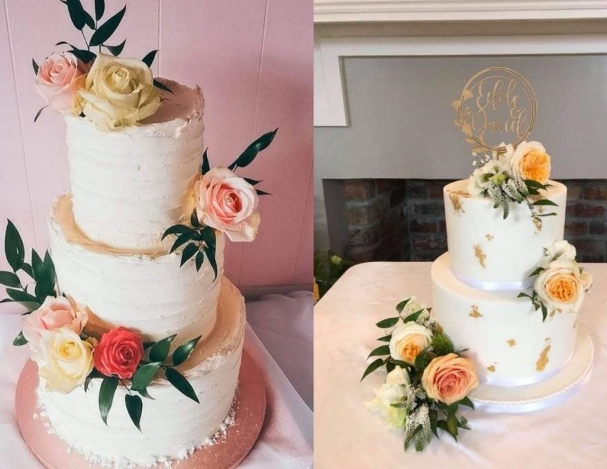 floral summer cakes