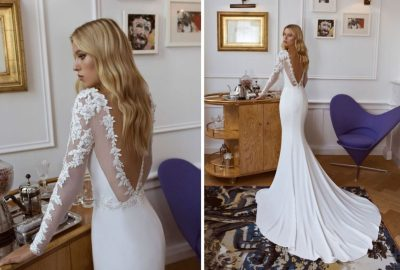 Enchanting & Dramatic Back Detailed Bridal Gowns