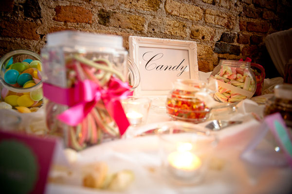 Wedding Refreshments Candy Table