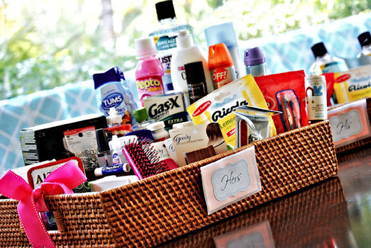 Bathroom Basket Emergency Kits For Your, What To Put In Bathroom Baskets