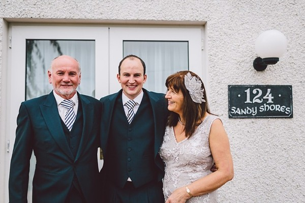 Graeme the groom and his parents