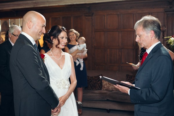 Saying vows, Waterford Castle