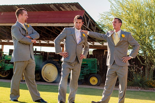 Joel and his grooms party