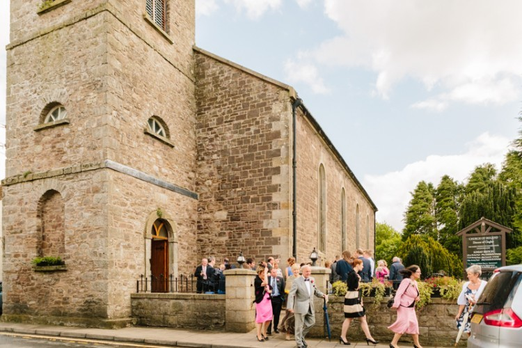 Wild Flower Wedding At Rossahilly House