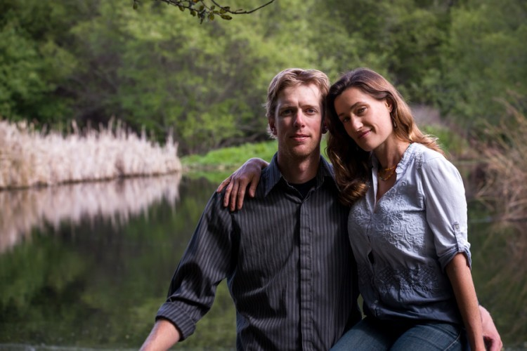 Outdoor engagement shoot by Tony Fitzgerald Photography