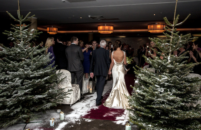 christmas wedding ceremony ireland