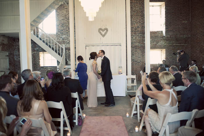 diy wedding ceremony room