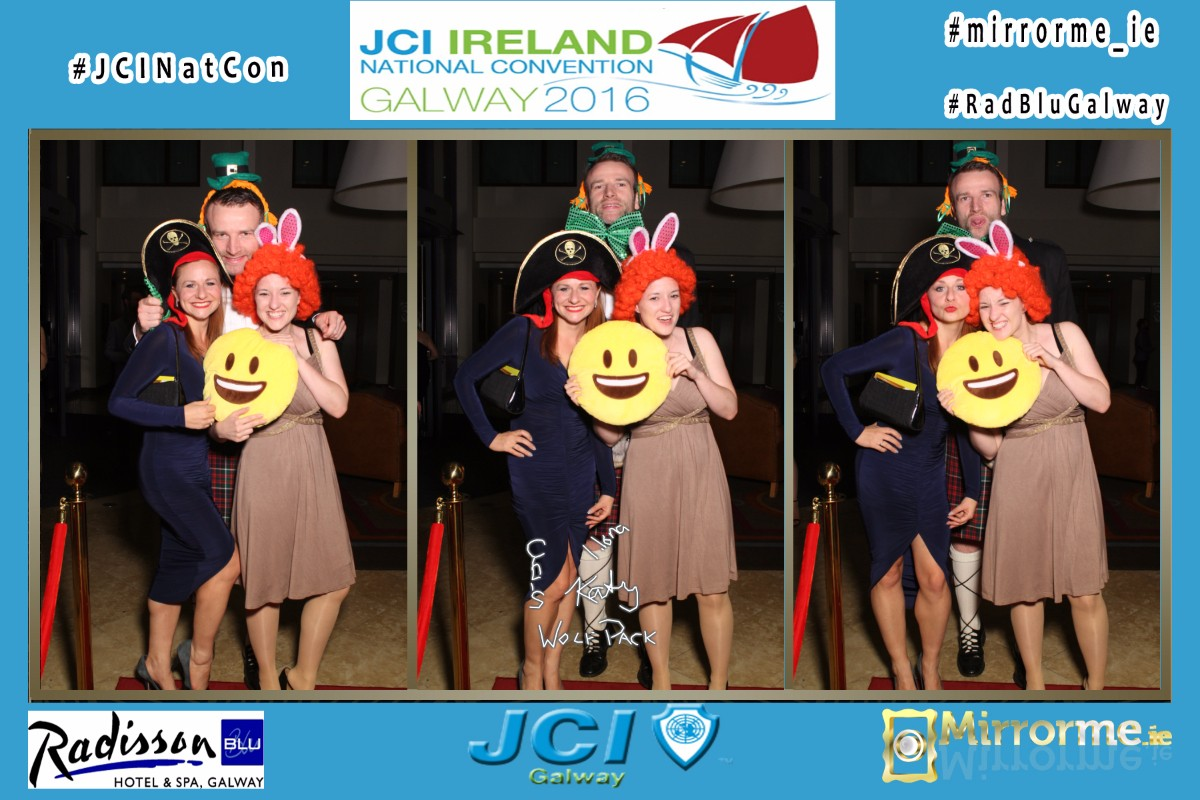 Mirrorme.ie at Junior Chamber International Convention 2016 Galway