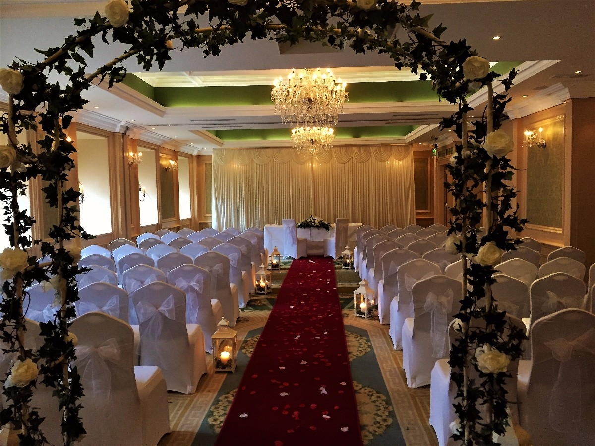Draping,Cermony Decoration,Decor & Event Styling,Church Decoration,Reception Decoration,Chair Covers,Flower Arch,Lanterns & Candles