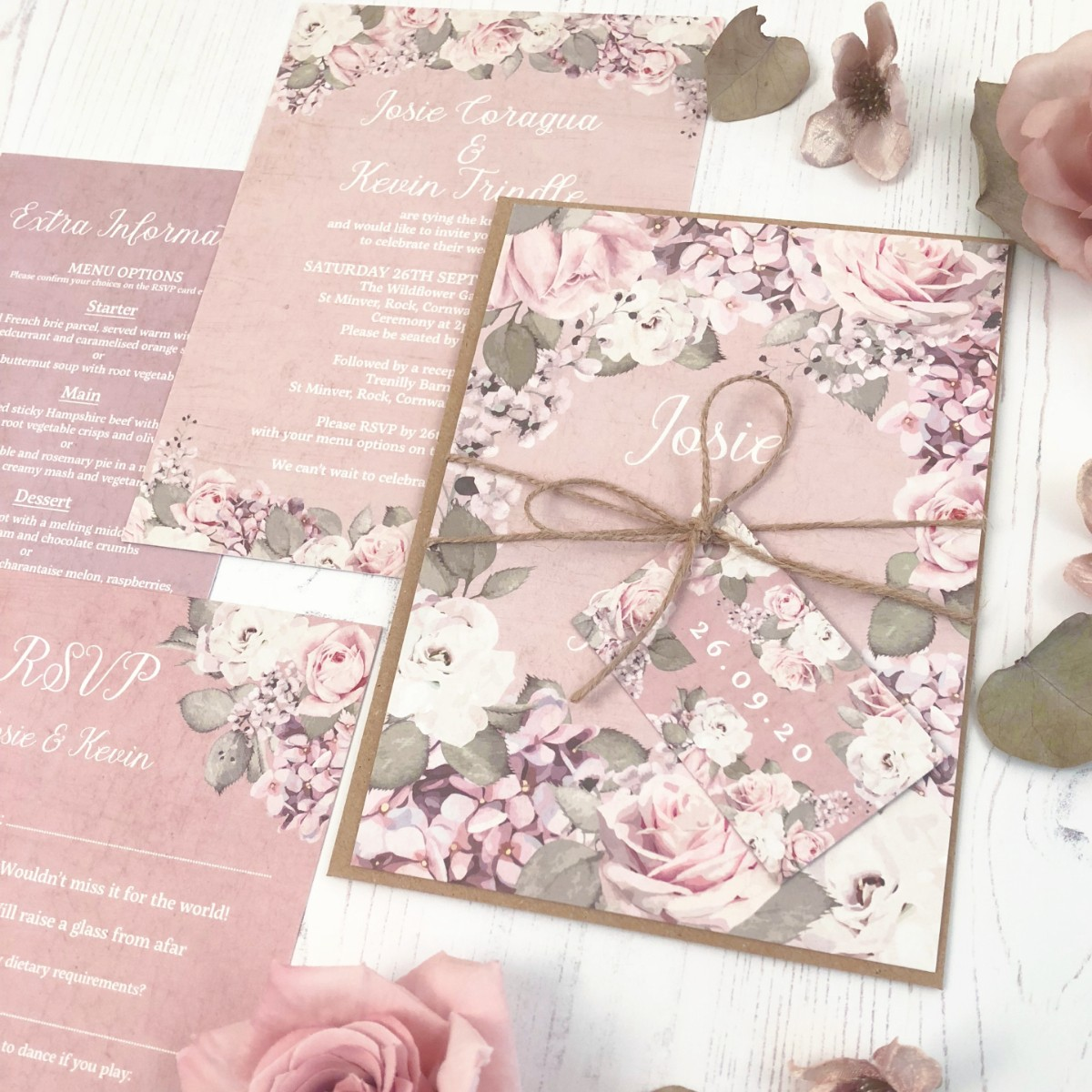Dusty Rose Garden Collection