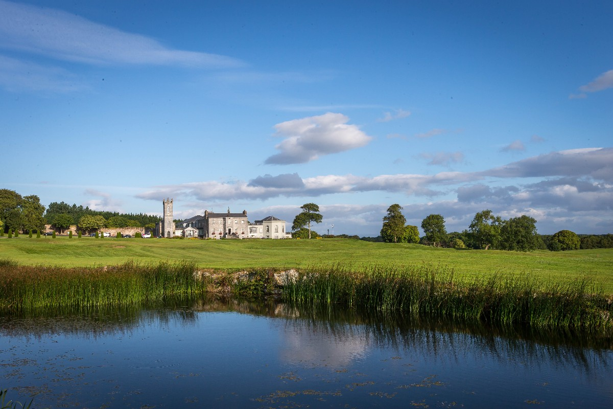 Glenlo Abbey Hotel and Estate  - View from Golf Course