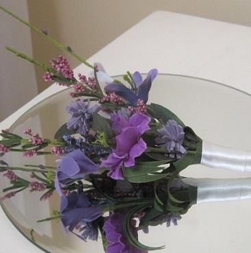 Silk Bouquets by All About Weddings