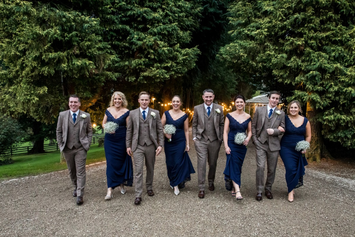 Bridal Party - Laura and Benny Photography