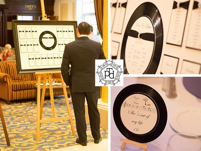 LP Wedding Table Plan @ Knightsbrook Hotel