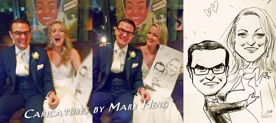 Quick Sketch Madness! Caricatures by Mark Heng- Drawing Smiles since 1990!