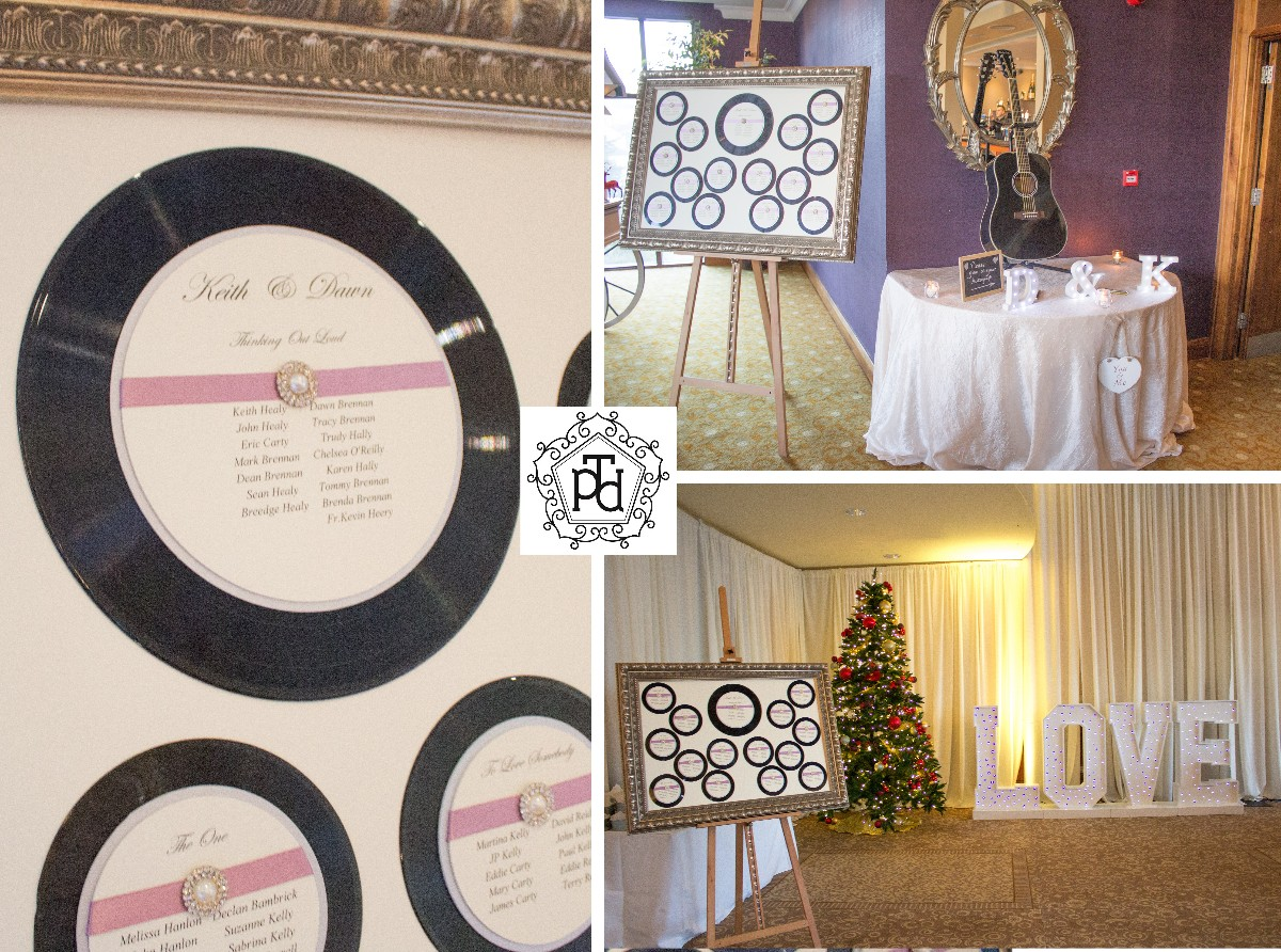 Single LP Table Plan Theme @ Trim Castle Hotel