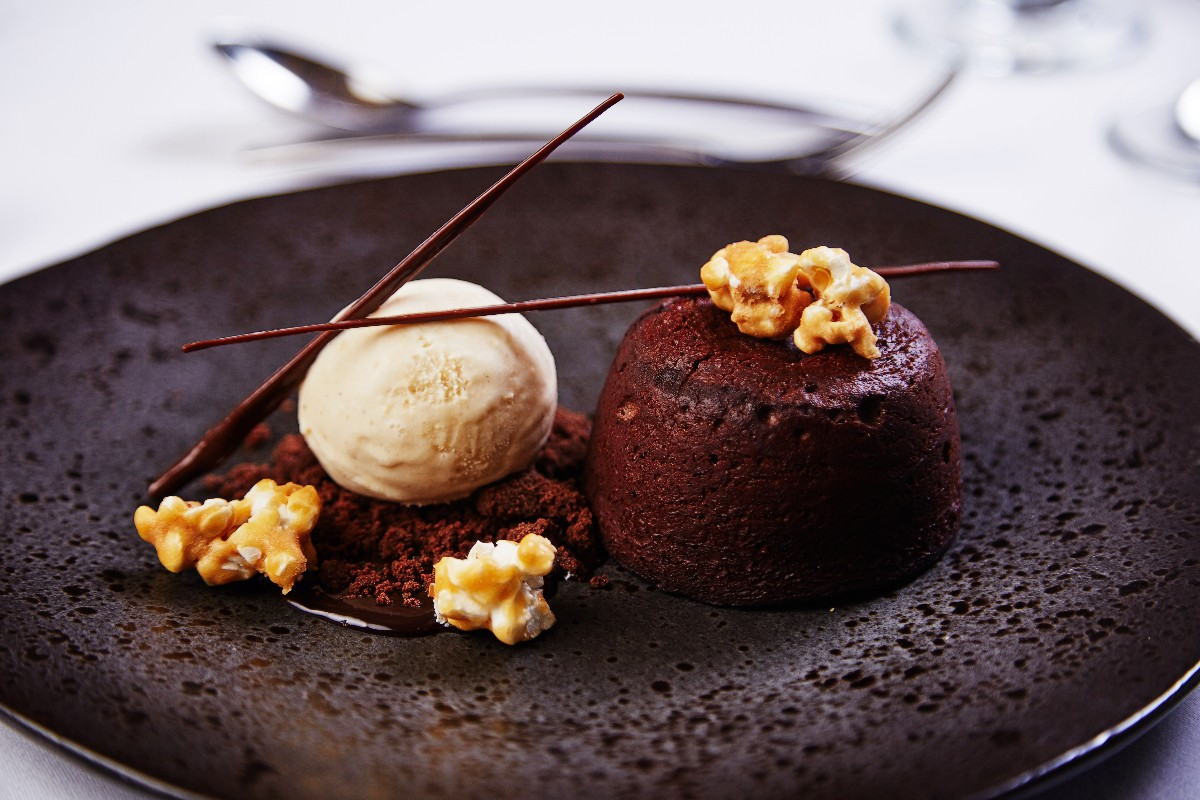 The Kingsley Hotel - Dark Chocolate Fondant