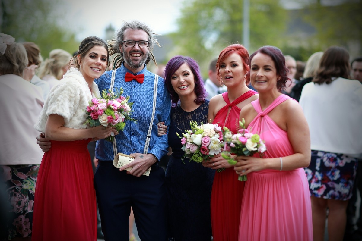 hipster wedding, cool wedding, arty types, reportage
