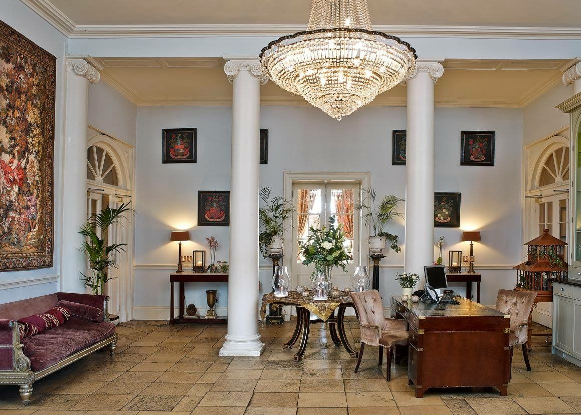 The entrance Hall and Reception