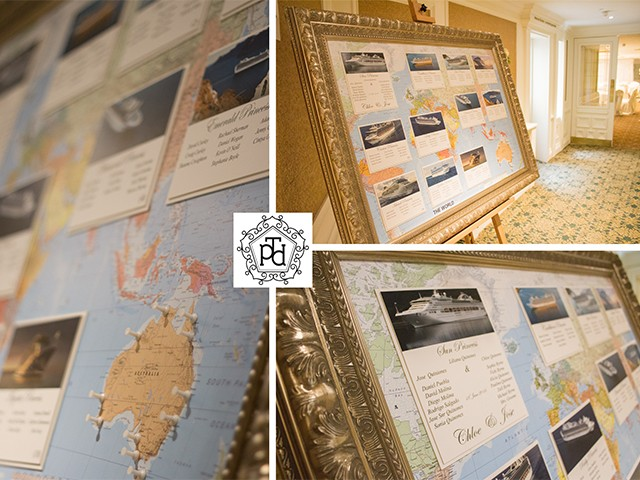Travel Wedding Table Plan @ Bracken Court Hotel