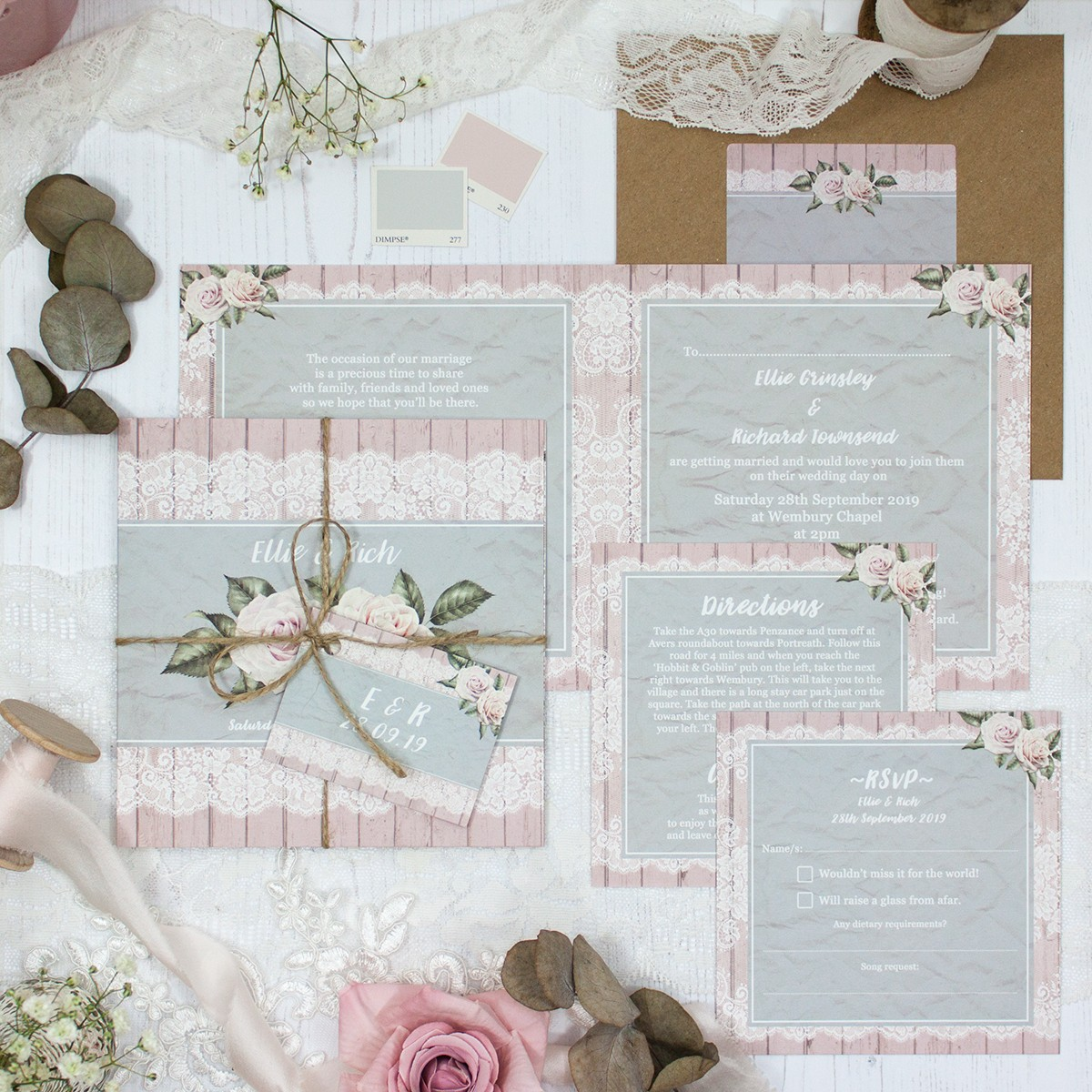 Powder Rose Collection