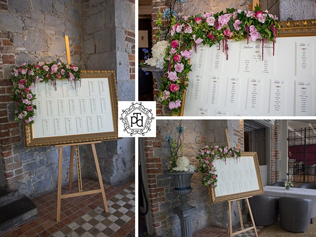 Wedding Flowers Table Plan Theme