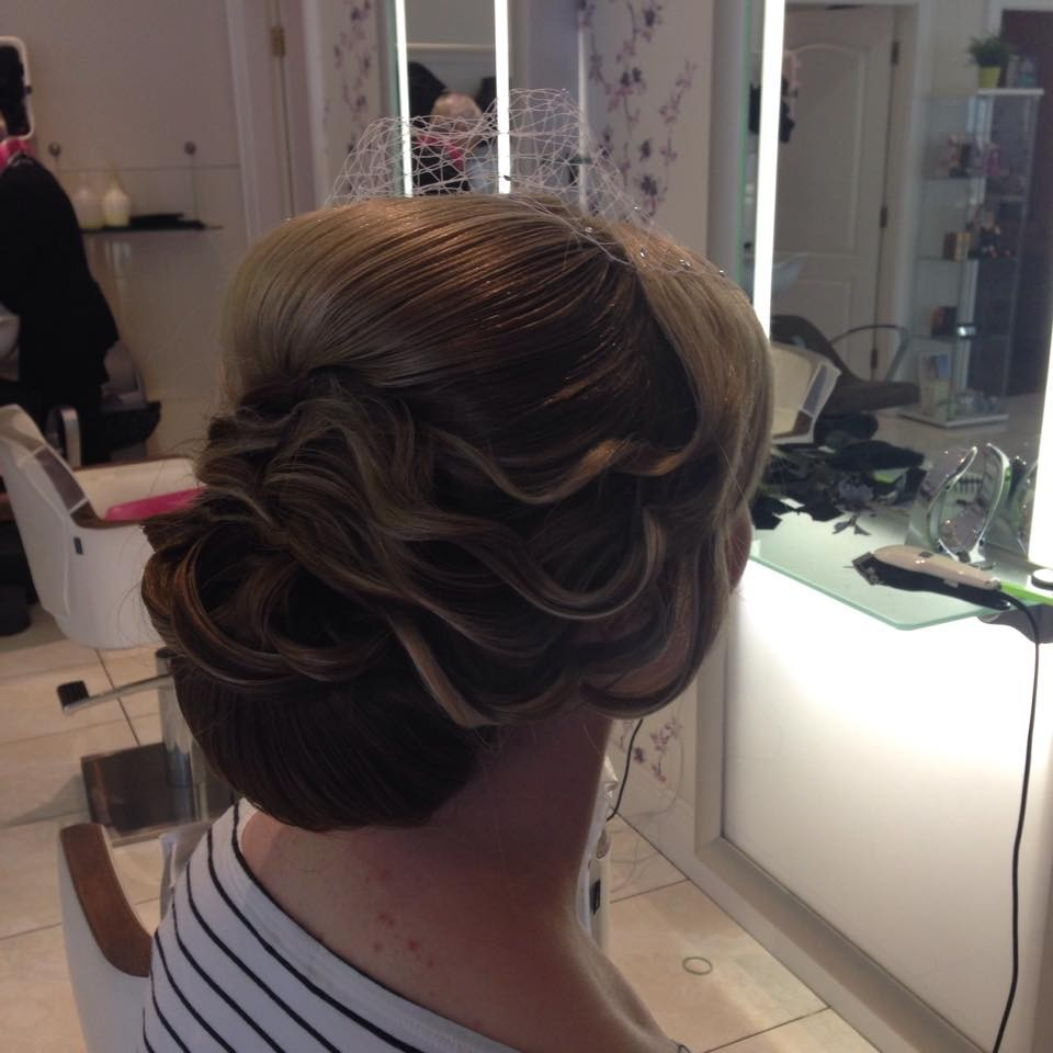 Wedding Hair stylists - Gemma Crossan award winning hair